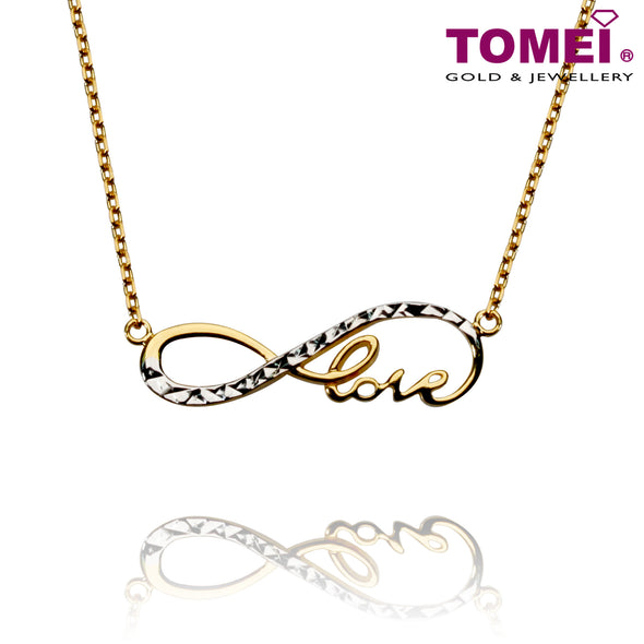 Love Is ... Necklace | Tomei Yellow Gold 916 (22K) (AS-NCA141863-1-2C)
