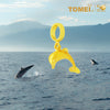 "Tomei Yellow Gold 916 (22K) Ocean of Wondrous ""Dolphin"" Chomel Pendant (TM-PT034-1C)"