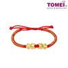 [Last Piece] Goldfish In Pairs Atomic Expandable Bracelet | Tomei Yellow Gold 999 (24K) (KP-SY-RS)