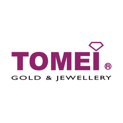 [Last Piece] You Want Me Chain Bracelet & Laser Heart Dangling Earrings | Tomei Yellow Gold 916 (22K) (9M0400707)