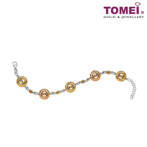 Circularity in Glamour Bracelet | Tomei Yellow Gold 750 (18K) (UCB3167PTR)