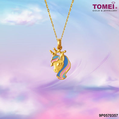 Unicorn Pendant | Tomei Yellow Gold 916 (22K) (PP0023-EC)
