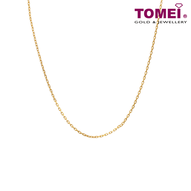 Link Chain | Tomei Yellow Gold 916 (22K) (9N-WZ12-03)