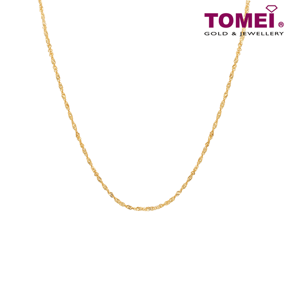 First Crush Chain | Tomei Yellow Gold 916 (22K) (9N-SB12-03)