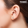 Feel My Love Earrings | Tomei White Gold 375 (9K) (E1804)