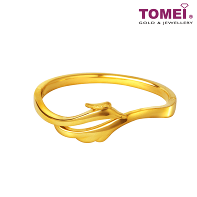 凤舞手镯 Bangle | Tomei Yellow Gold 999 (24K)