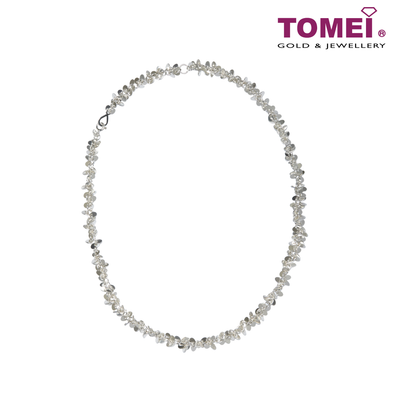 [Online Exclusive] Frosty Faith Dazzling Twinkles Necklace | Tomei Sterling Silver 925 (Z59N)