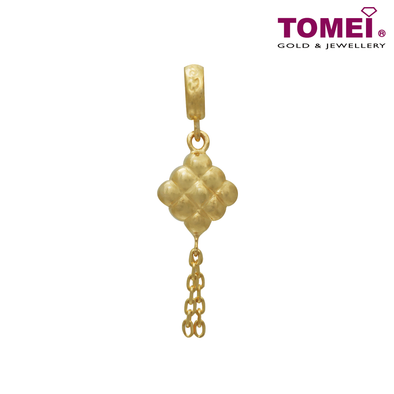 Ketupat Chomel Charm | Light of My Life | Tomei Yellow Gold 916 (22K) (TM-PT128-1C)