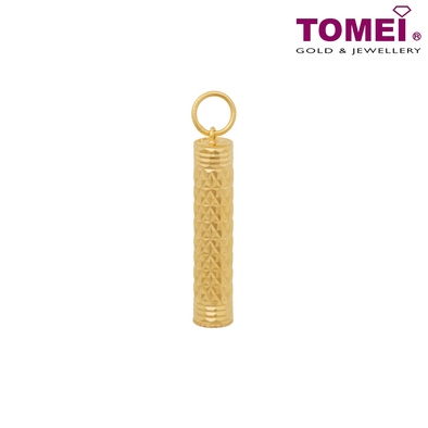 Tomei Yellow Gold 916 (22K) Chinese Talisman Container (9P-FTZ9MM-1C)
