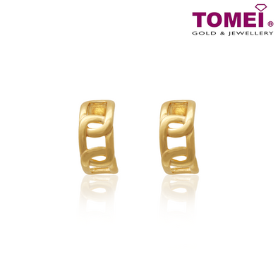 Anastasia Earrings | Tomei Yellow Gold 916 (22K) (AS-YG1151E-1C)