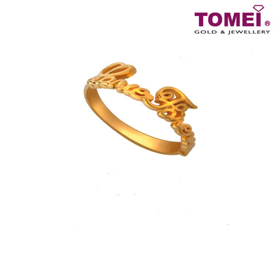 [Online Exclusive]Loving You Forever Ring | Tomei Yellow Gold 916 (22K) (RR3180-1C)