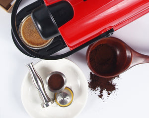 Nespresso compatible refillable coffee capsules