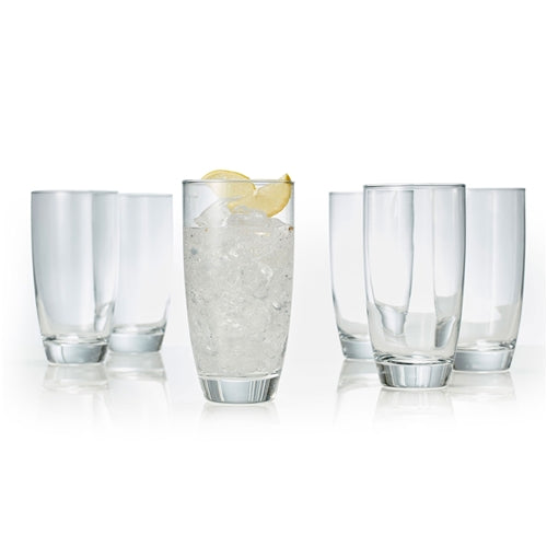S&P Salut highball glasses set of 6