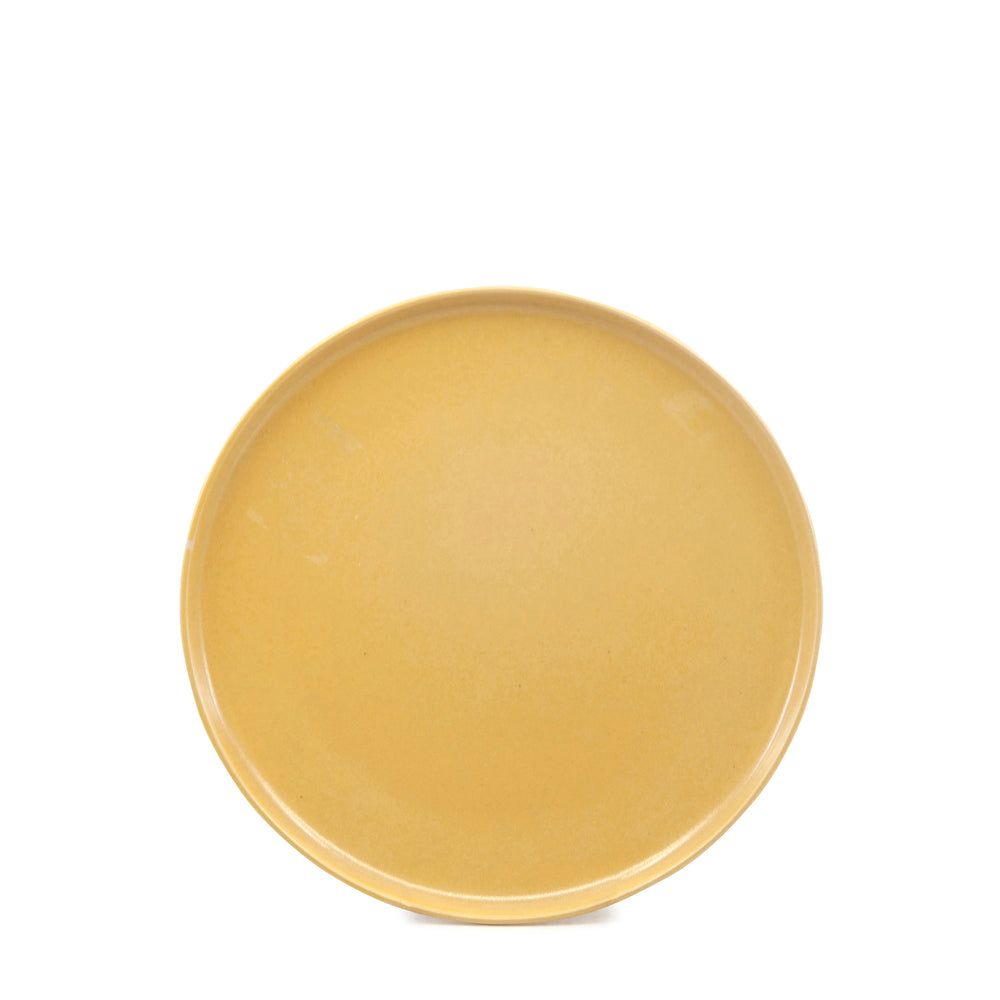 S&P Hue dinner plate in yellow