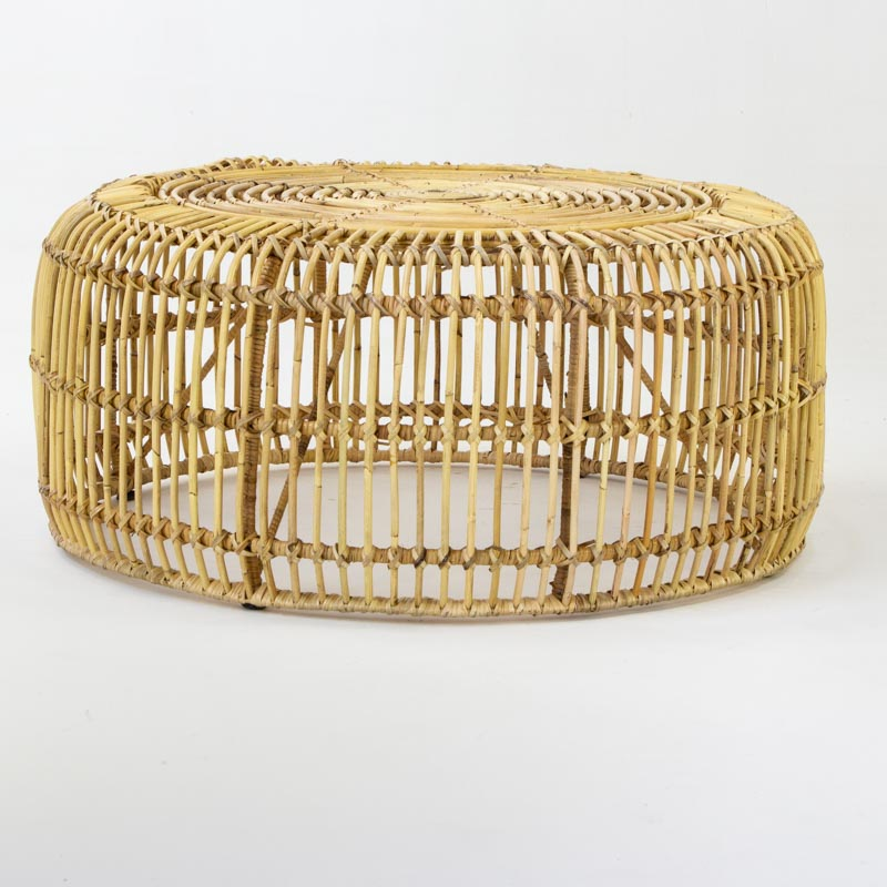 Rattan Coffee Table in Natural