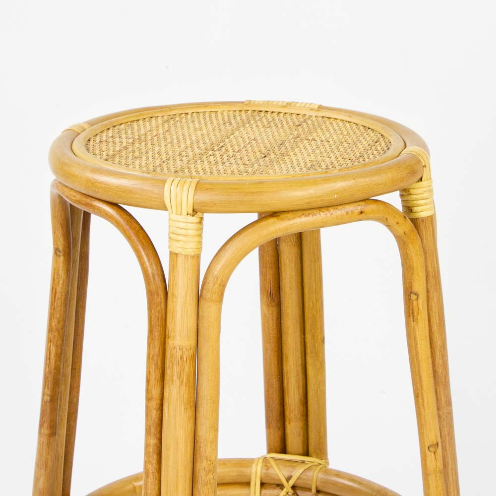 Bahama rattan bar stool in natural