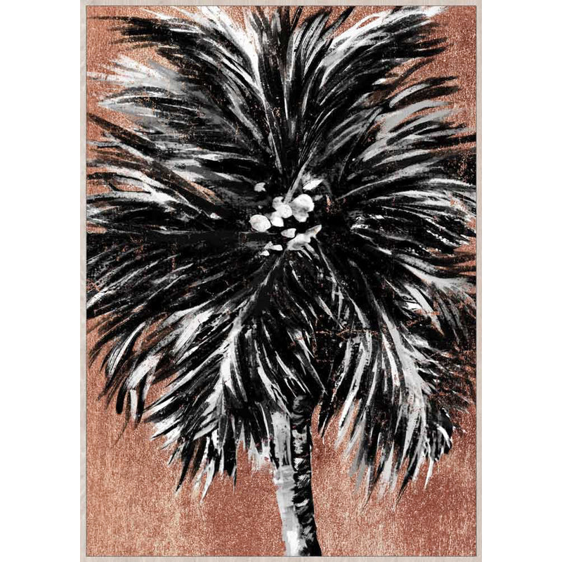 Mirage palm framed canvas art large