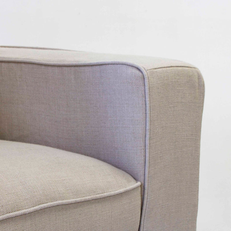 Longbeach linen arm chair