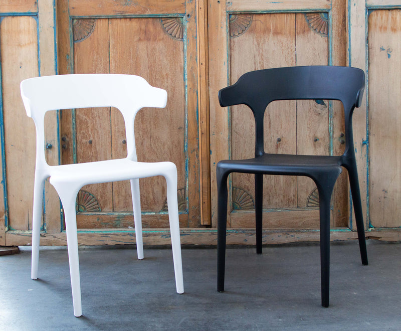 Alfresco armchair in black