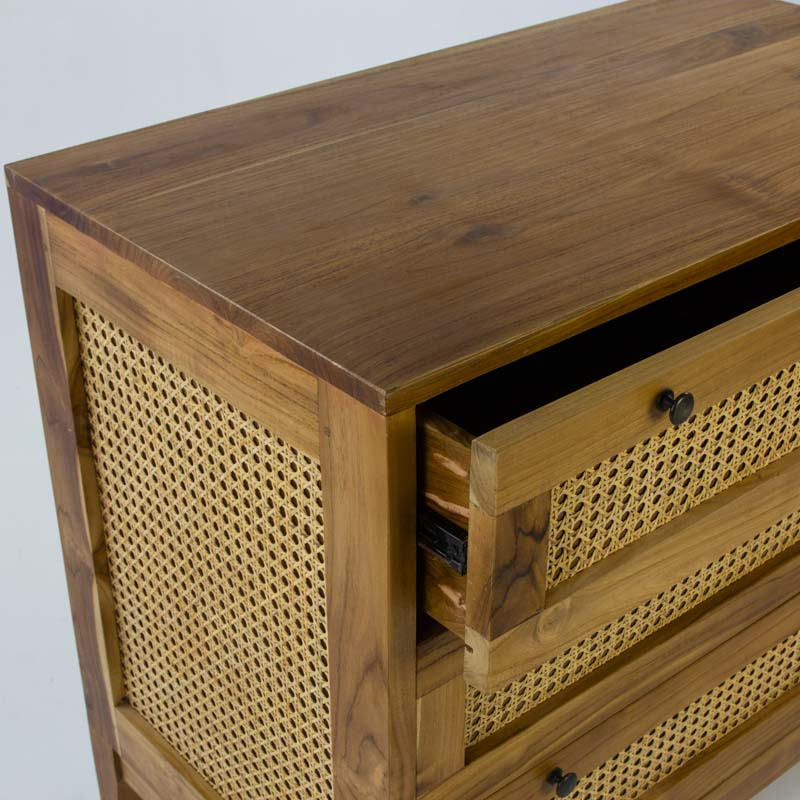 The Tropic 3 drawer cabinet