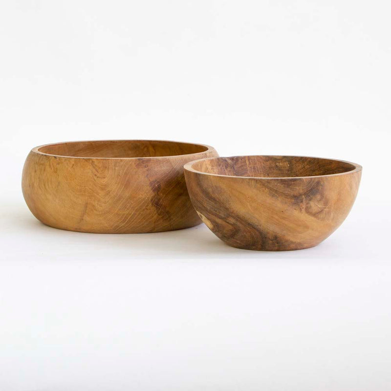 Wooden salad bowl large
