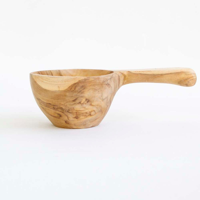 Wooden water scoop small