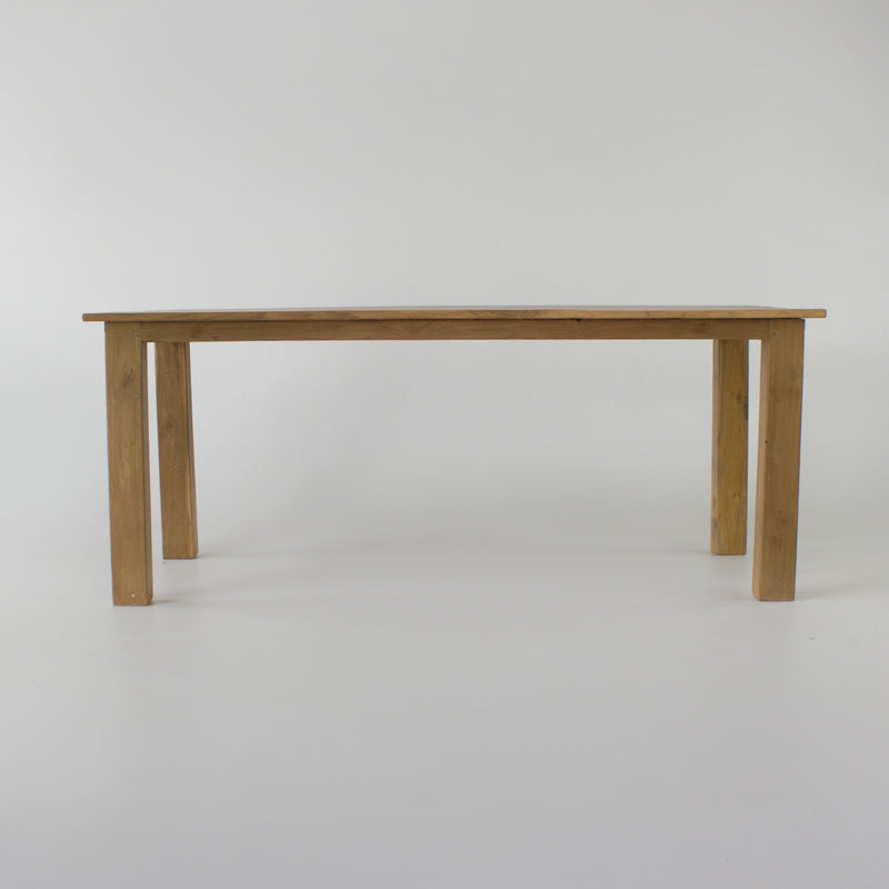 Jati dining table 1.6 x 0.8 metre in natural