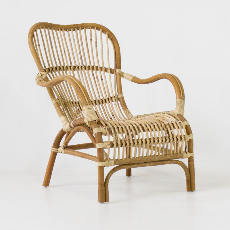 Bandung Chair in blonde rattan
