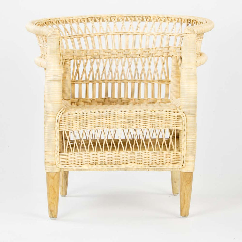 Malawi style chair in natural