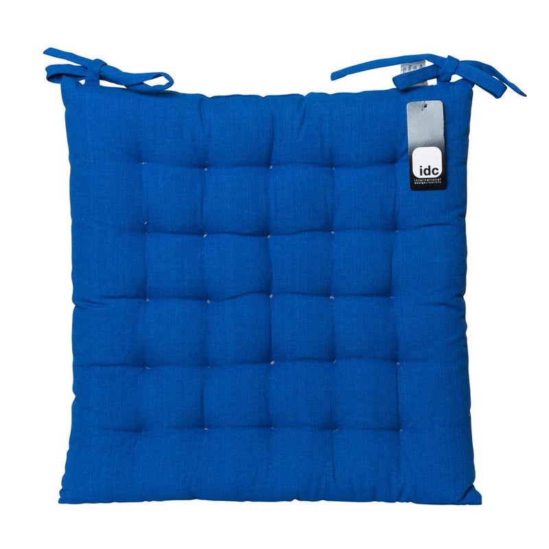 Basic chair pad in blue