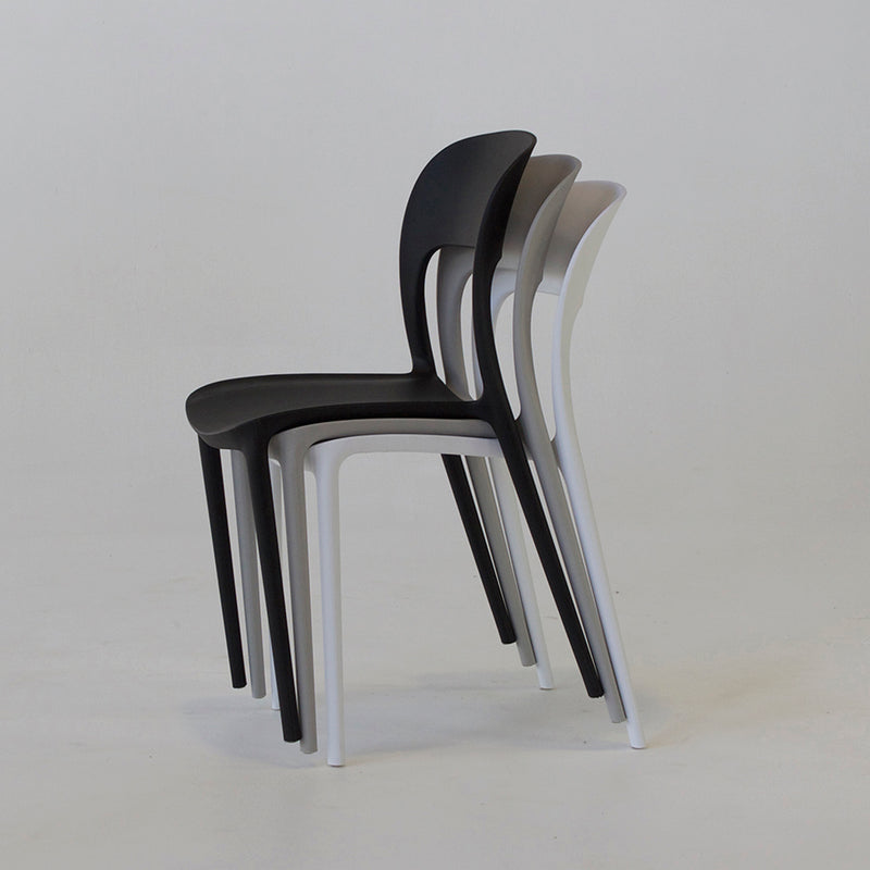 Roma dining chair in black