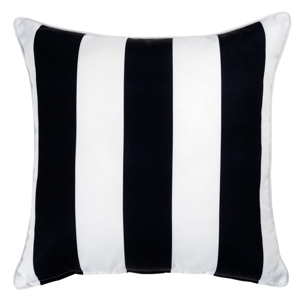 Sorrento outdoor cushion in black