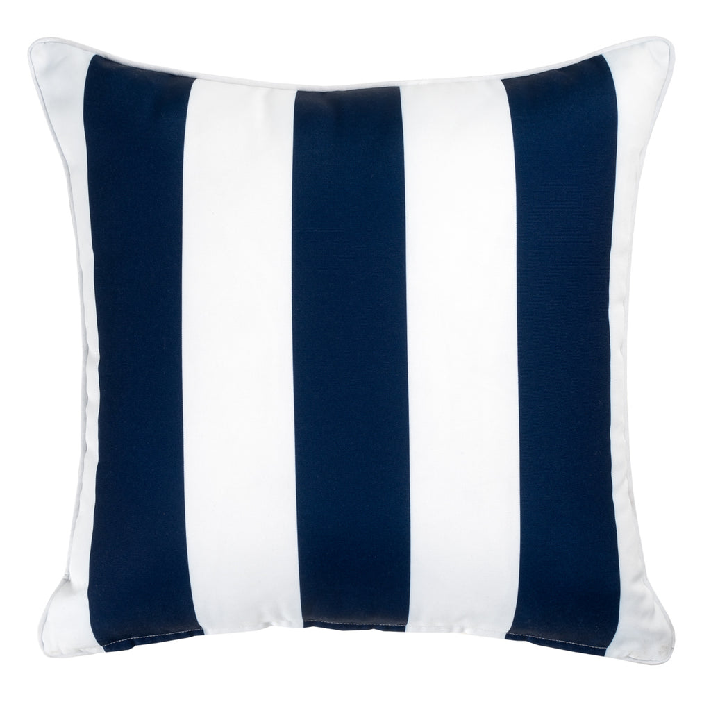 Sorrento outdoor cushion in navy