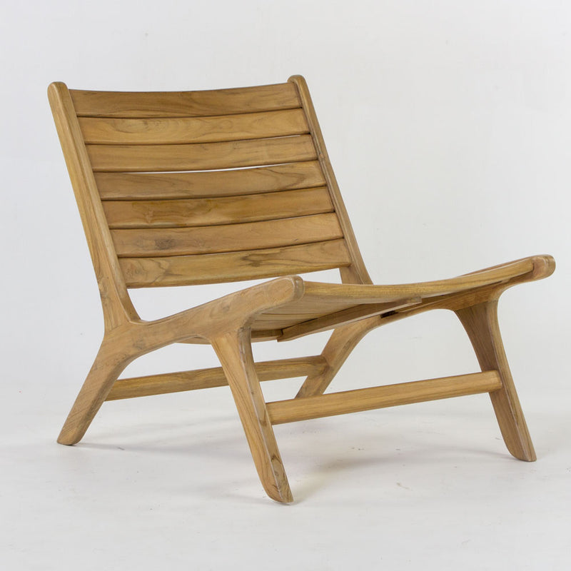Tropic layback style slat chair