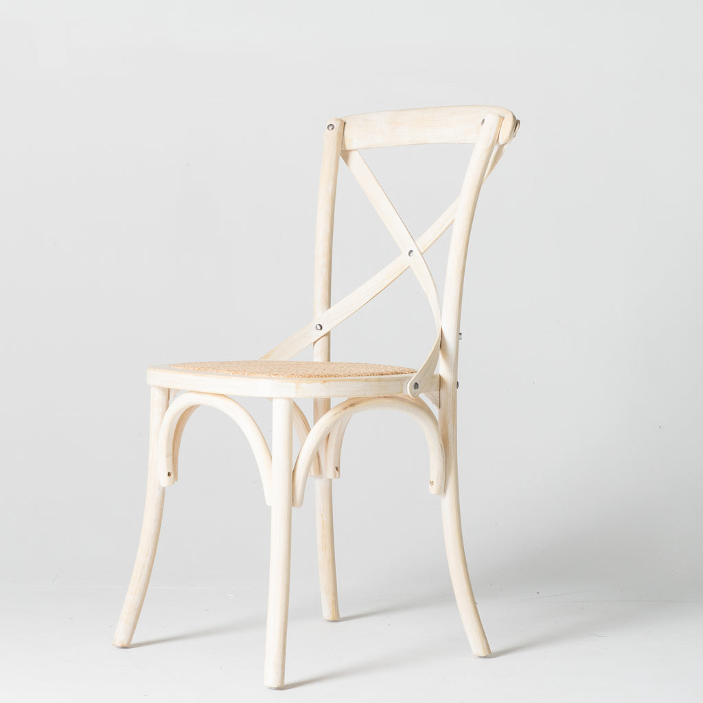 Café Chair in Bleached