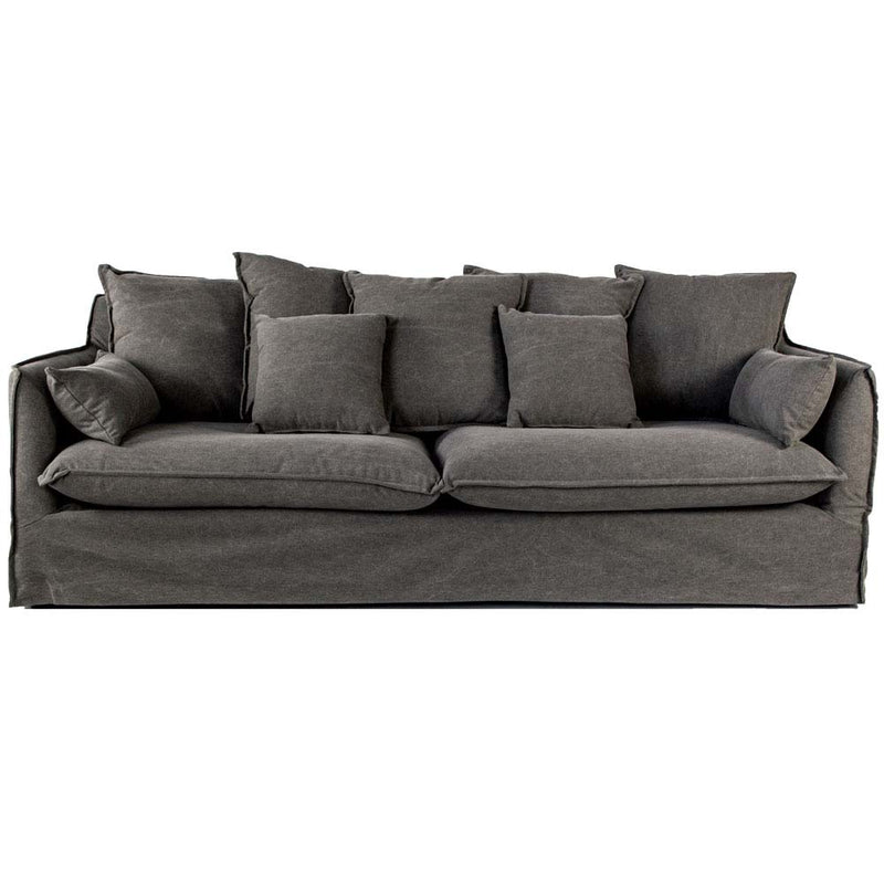 Byron 3 seater sofa in grey