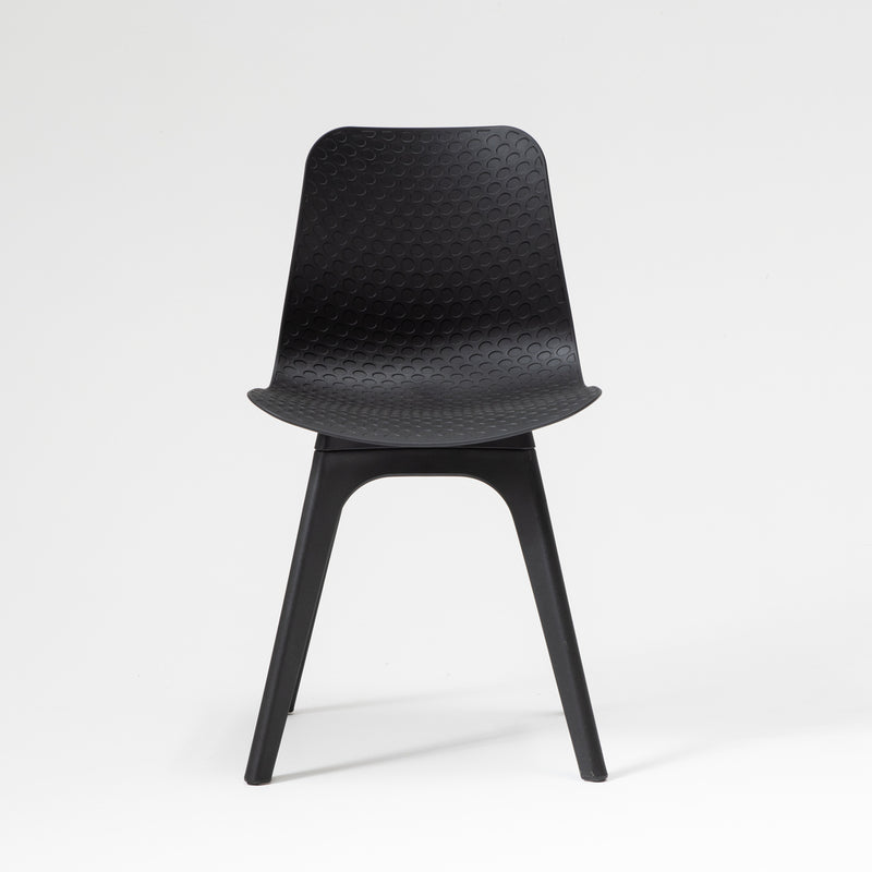Hudson dining chair in black