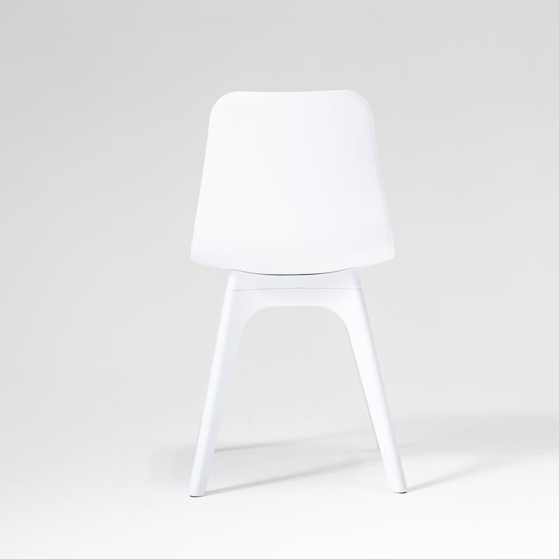 Hudson dining chair in white