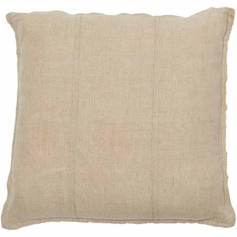 Luca linen cushion in natural
