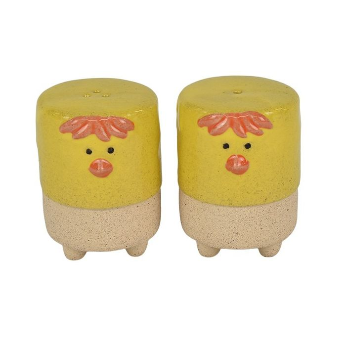 Hilda hen salt and pepper shakers