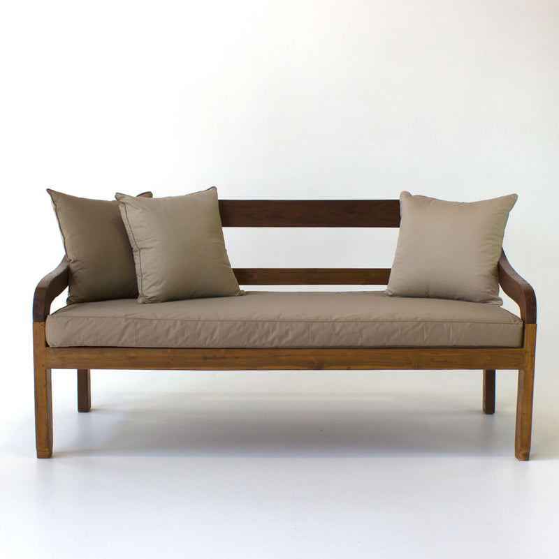 Bentwood daybed 2 x 1 metre incl. mattress
