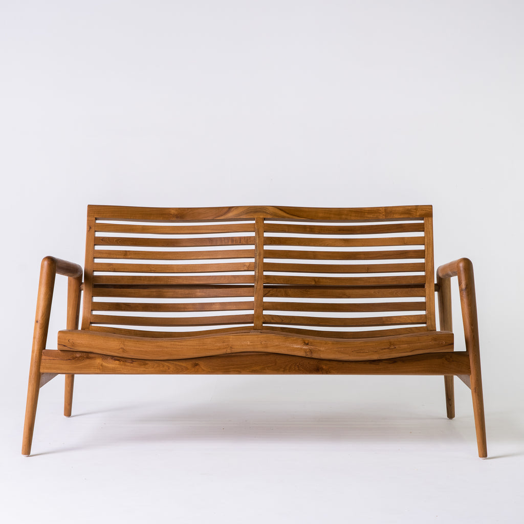 Teak Retro 2 seater sofa
