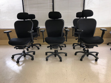 Pre-Owned Nightingale CXO 6200D Memory Foam & Mesh Office Chair w/ Lumbar Support