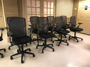 Pre-Owned Allsteel Acuity Ergonomic Work Chair in High-back Mesh, Fully Adjustable