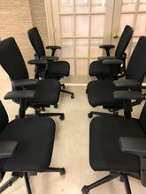Load image into Gallery viewer, Pre-Owned HAWORTH ZODY task office chair Fully loaded & Adjustable Arms (4D)-Black Frame