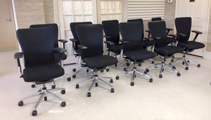Ergonomic HAWORTH ZODY office chairs