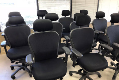 Pre-Owned Nightingale 6200D CXO chair with headrest; lumbar support and advance arms