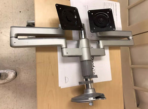Pre-Owned HumanScale M2 M/FLEX dual 2 Monitors Arm Straight Link