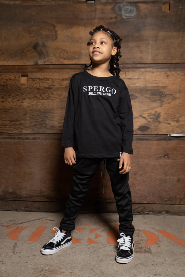 Kid's Long Sleeve Billionaire Tee