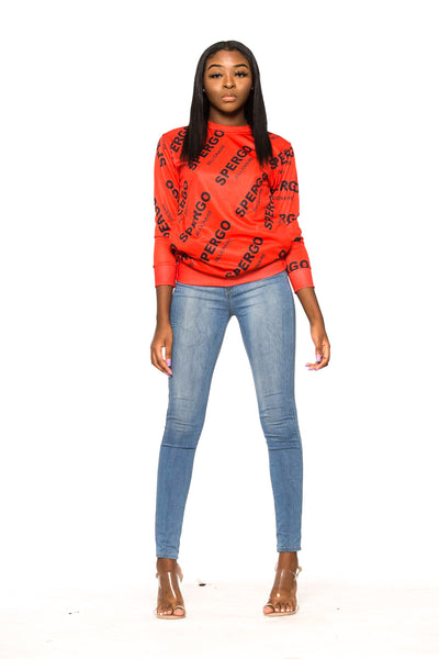 Tovie Red Sweatshirt